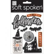 Soft Spoken Themed Embellishments-Halloween Spooky
