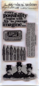 Tim Holtz Cling Stamps ~ Curious Possibility!!!