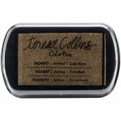 Teresa Collins Pigment Ink Pad-Gold Shine