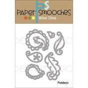 Paper Smooches Die-Paisleys