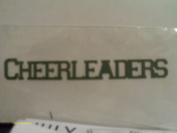 Cheerlearders Die Cut