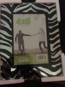 Zebra Tinted Glass Picture Frame 4 X 6