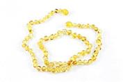 Healing Hazel 100% Balticamber Adult Necklace, Honey Polished