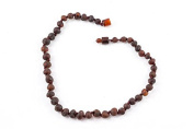 Healing Hazel 100% Balticamber Baby Necklace, Cherry Raw