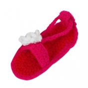 Towallmark Baby Girl Crib Crochet Handmade Knit Sock Infant Shoes