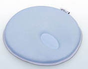 Topwon 20cm Infant Cradler Memory Foam Pillow Head-shaping Pillow (0-12 Months) Light Blue