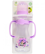 "Disney ""Minnie's Accessories"" Feeding Bottle with Handles - lilac, one size"