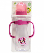 "Disney ""Minnie's Valentine"" Feeding Bottle with Handles - magenta, one size"