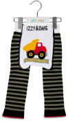 Grey and Black Truck 6-12 Month Baby Leggings