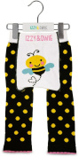 Yellow and Black Bee 12-24 Month Baby Leggings