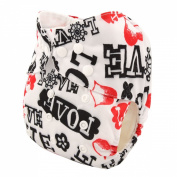 DSB Reusable Washable Baby Cloth Nappy Nappy Romance Maker +1insert