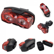 Sumptuous 2x LED 3 Modes Popular Bike Light Rear Bicycle Tail Cycling Safety Flashing Colour Red