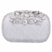 Fawziya® Flower Purses With Rhinestones Crystal Evening Clutch Bags