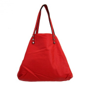 3 in 1 Tote Purse Red Faux Leather Stonewashed Hobo Shoulder Bag Satchel Crossbody
