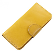 Mantos Eternity Women's Genuine Leather Purse Simple Long Wallet with 18 Card cases