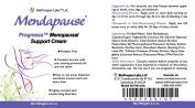 Mendapause Progressa Menopausal Support Cream 100ml