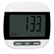 Csbrother LCD Digital Pocket Pedometer Mini Walking Run Step Calorie Distance Calculation Clip-on Steps Counter