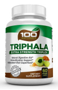 100 Naturals Triphala Extra Strength Supplement