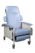 Drive Medical Clinical Care Geri Chair Recliner, Blue Ridge, Model - D577-BR