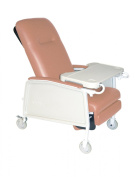 Drive Medical 3 Position Geri Chair Recliner, Rosewood, Model - D574-R