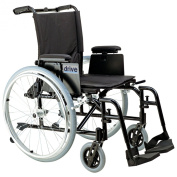 Drive Medical Cougar Ultra Lightweight Rehab Wheelchair, Swing away Footrests, 46cm Seat, Model - AK518ADA-ASF