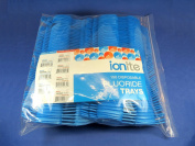 100x Fluoride Arch Foam Trays Dental Dual LARGE Blue Pack Disposable Cubetas
