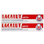 Lacalut Toothpaste Aktiv 2 X 75Ml