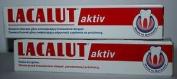 Lacalut Aktiv - Toothpaste / Stops Bleeding 2X75Ml