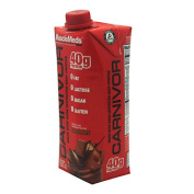 MuscleMeds Carnivor Ready to Drink, Chocolate, 12 Count