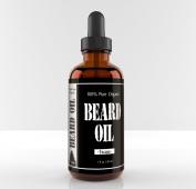 Leven Rose Beard Oil and Leave-in Conditioner - Best Beard Oil Escape Scented 100% Pure Organic Natural Cedarwood for Groomed Beard Growth, Moustache, Skin for Men - 30ml - Jojoba, Rosehip & Argan Oil