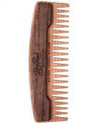 Big Red Beard Combs - Handcrafted No. 99W (Wide) Beard Comb