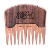 Big Red Beard Combs - Handcrafted No. 95 Beard Comb