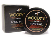 WOODY'S Quality Grooming For Men Beard Balm 60ml/ 56.7 grms Conditioner & Style Wax