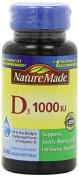 Nature Made Vitamin D3 1000 IU Supplement Liquid Softgels, 100 count,