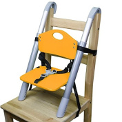 Booster Seat - Svan Lyft High Chair Booster Seat - Adjusts Easily to Most Chairs - Orange