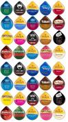 40 TASSIMO® T-Disc Variety Sampler! 20 unique varieties! Tim Horton's, Twinings, Nabob, Gevalia ++
