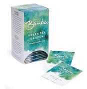Organic Green Tea Garden, 25 Tea Bags White Bamboo Tea