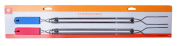 2 Pack Extension Forks - Extended Length 80cm - Great for Camping or Grilling