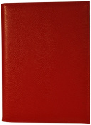Budd Leather Lizard Calf Pad Cover, Red
