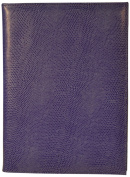 Budd Leather Lizard Calf Pad Cover, Lilac