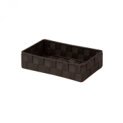 Honey-Can-Do OFC-03707 10.25 by 14cm by 6cm Woven Organiser, Small, Espresso Brown