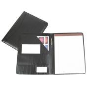 Royce Leather Padfolio (Black)