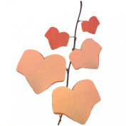 Wrapables Tree Leaf Post-It Sticky Notes, Red