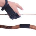 Utralight Leather Archery Finger Glove 3Finger Protectors Finger Tab for Right/Left Hand