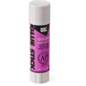 OfficemateOIC Colour Glue Stick, 40ml, Purple, Pack of 12