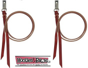CASHEL ★ SADDLE STRING 2 PACK ★ PREMIUM LATIGO LEATHER WITH ATTACHMENT DEE