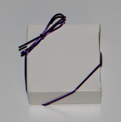 20cm Purple Stretch Loops 50ct for Candy Boxes / Jewellery Boxes