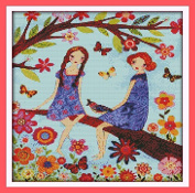 Happy Forever Cross Stitch Scenery, yearning of Spring 5