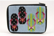 Coin Purse - Flip Flops - Needlepoint Kit