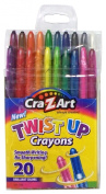 Cra-Z-art Twist up Crayons, 20-Count